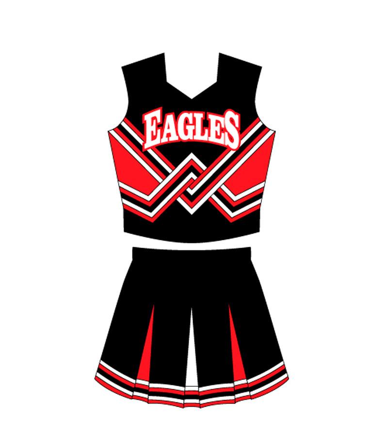 0a0a7dde Custom Cheerleading Uniform Design #2| All Pro Team Sports