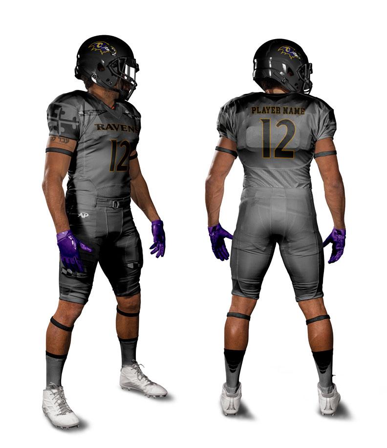 5b1b26c60bb Custom Football Uniform Design  4